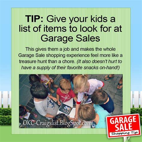 How To Find Garage Sales On Craigslist by 17 Best Images About Craigslist Garage Sale Tips On