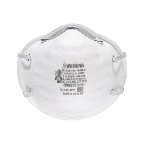 home depot spray paint mask 3m n95 particulate respirator 8200xc1 c the home depot