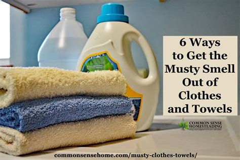 8 Ways To Remove Smell From Clothes by 6 Ways To Get The Musty Smell Out Of Clothes And Towels