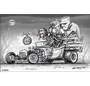 Rat Fink Hot Rod Art Car Pictures