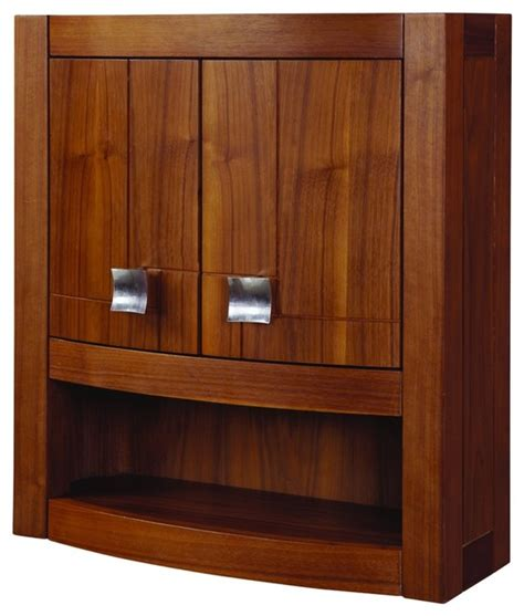 decolav 5245 mwn gavin wall cabinet modern bathroom