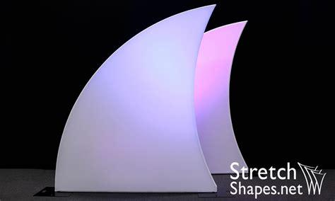 Stretch Decor Fabric by Stretch Fabric Fins Stage Decor Stretch Shapes