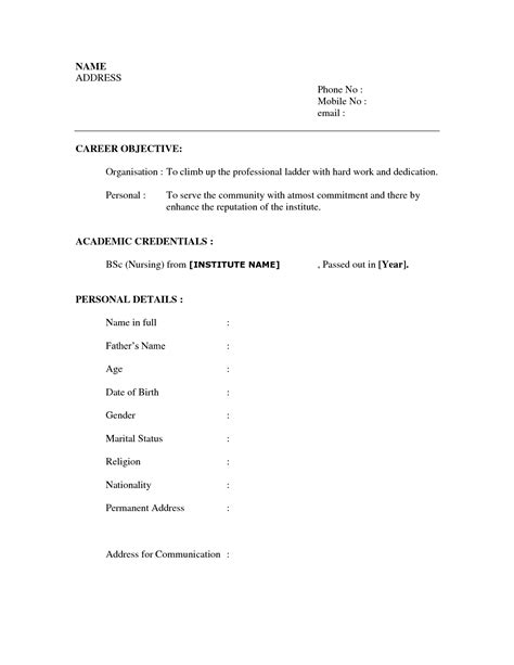 sle student resume with no working experience sle resumes for high school students with no work