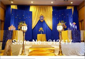 Yellow Black And White Shower Curtain Top Selling Customized Royal Blue And Gold Backdrop For