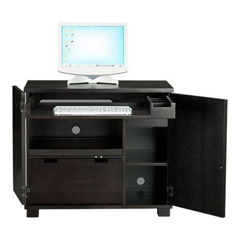 Crate And Barrel Computer Desk Crate And Barrel Incognito Compact Office Look 4 Less