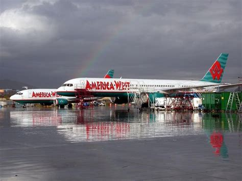 america west airlines foto america west airlines boeing 757 2g7 n909aw in az