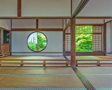 casa tradizionale giapponese interno della casa giapponese tradizionale immagine stock