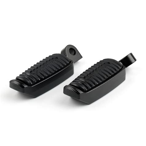 scanned rubber st alum and rubber 45 degree foot pegs for harley sportster