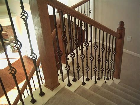 wrought iron banister rails wrought iron interior handrails stair railing