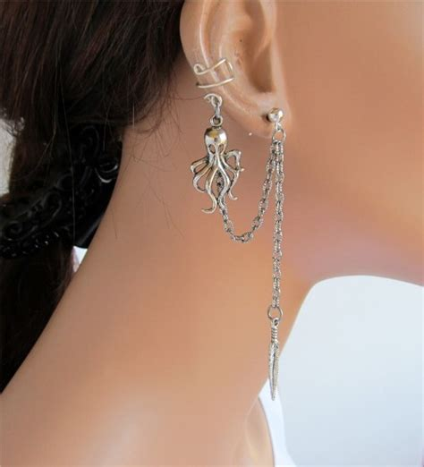 cool cartilage earrings for women   Di Candia Fashion