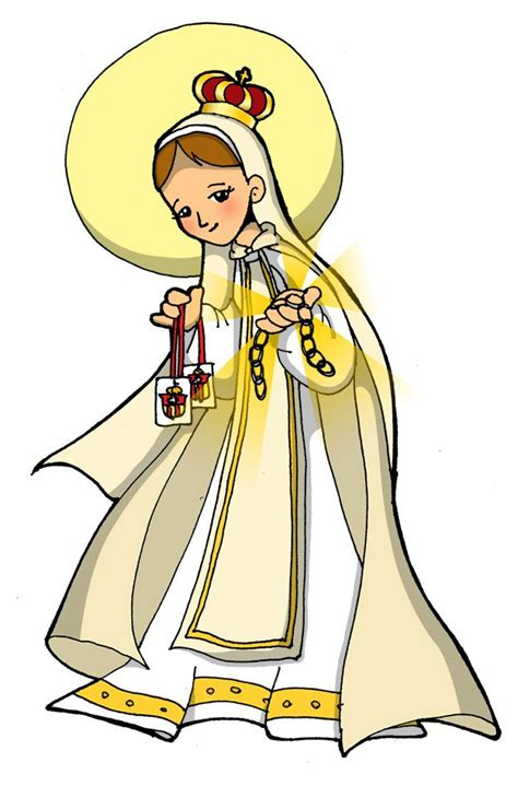 imagenes de la virgen maria de caricatura la virgen de fatima en caricatura buscar con google