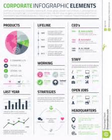 9 best images of infographic resume template editable