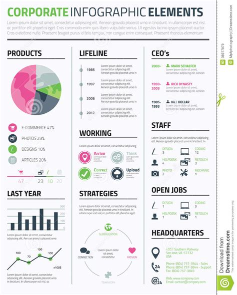 infographic resume template powerpoint free 9 best images of infographic resume template editable