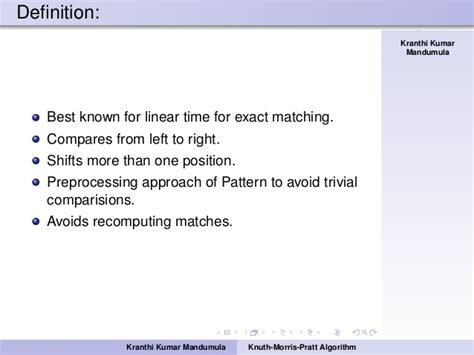 implement kmp pattern matching algorithm kmp