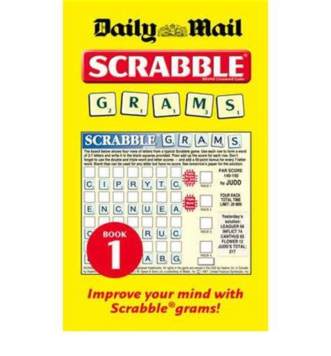 scrabble grams collins quot daily mail quot scrabble grams bk 1 puzzle book