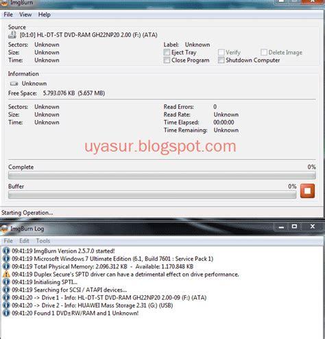 Cara Membuat File Iso Di Laptop | uya sur membuat file iso dari cd dvd di komputer dan laptop