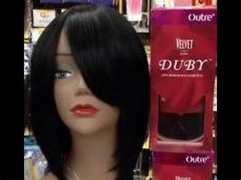 utube bump hair in a bob 3 n 1 short bob wig w out re duby velvet remi hair youtube