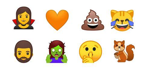 android new emoji say goodbye to android s blob emoji