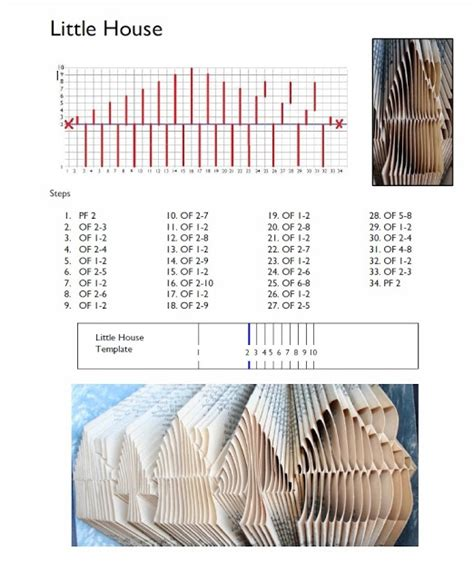book folding templates book folding patterns redos