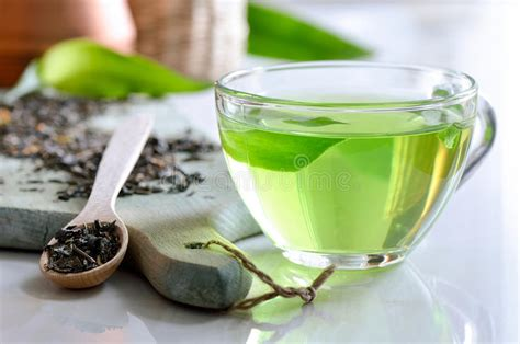 Detox Cup by Green Spa Tea Stock Photo Image Of Healthy White Aroma