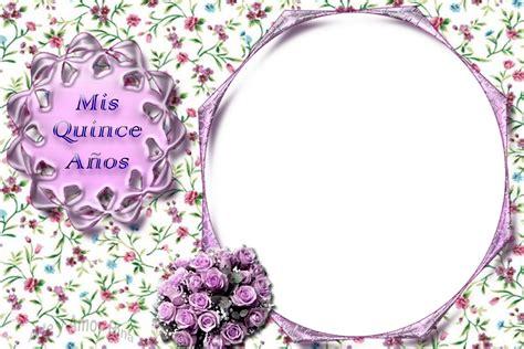 imagenes de quinceañeras png arte y amor un marco para fotos de quince en morado