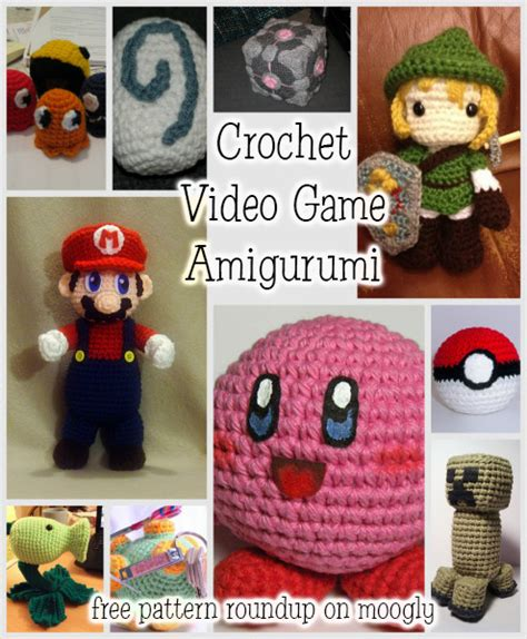 Crochet Pattern Video Game | all your crochet are belong to us video game amigurumi