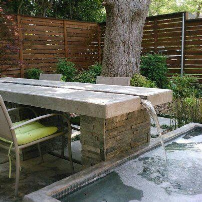 Outdoor Water Table by 22 Best Images About Water Feature Stuff On Water Modern Landscaping And