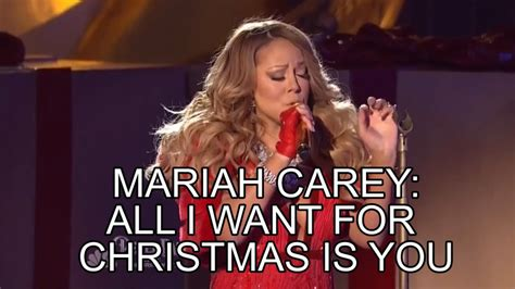 Mariah Meme - mariah carey rockefeller center 2014 all i want for