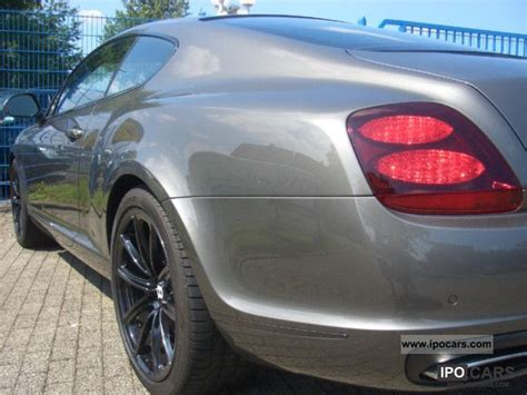 bentley cont super sports lp  seater eur