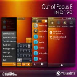 out of focus a theme for symbian belle apk mania out of focus e ind190
