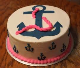 anchor cake birthdays pinterest