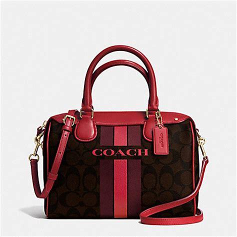 Coach Mini Bennet Varsity Patch 1 coach f38401 coach varsity stripe mini satchel in signature imitation gold brown