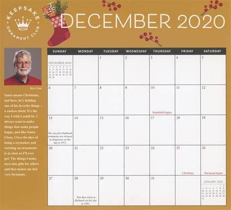 christmas  day  month calendar july  dec  digital dreambook