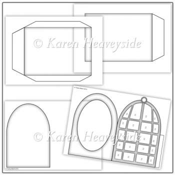 3 x 5 cage card template commercial use birdcage pillow card template set 163 3 00