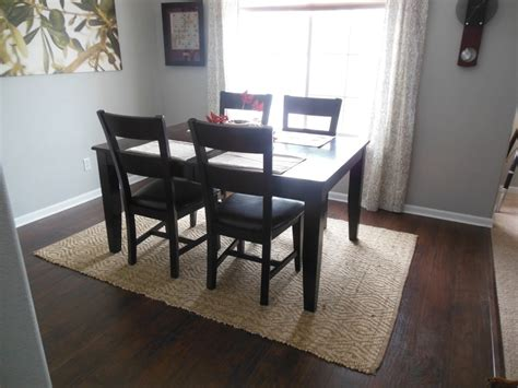Area Rug For Dining Room Table Country Dining Room With Hardwood Floors Carpet In New Fairfield Carpet Vs Vinyl In Your Dining