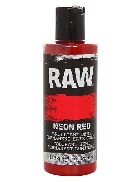 what is raw hair color with pictures wisegeek clear raw neon red demi permanent hair color hot topic