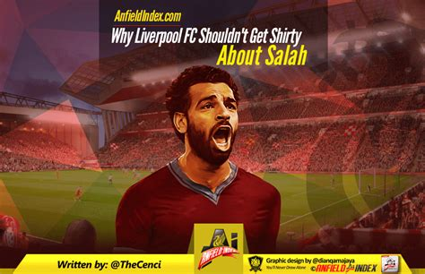 Who Shouldn T Get An Mba by Why Liverpool Fc Shouldn T Get Shirty About Salah