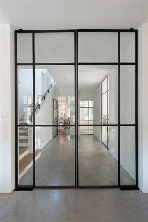 interior steel door best 25 glass doors ideas on glass door