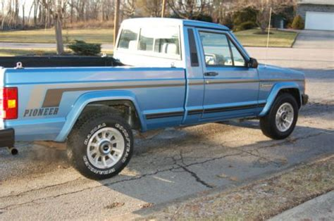 how much is a 1989 jeep wrangler worth purchase used 1987 jeep comanche 2 door 4 0l
