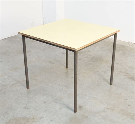 Industrial Square Coffee Table Square Industrial Coffee Table For Sale At Pamono