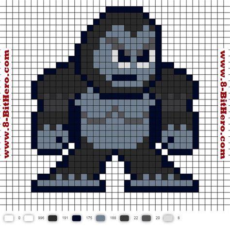 bit pattern in c gorilla grodd flash perler bead pattern dc comics