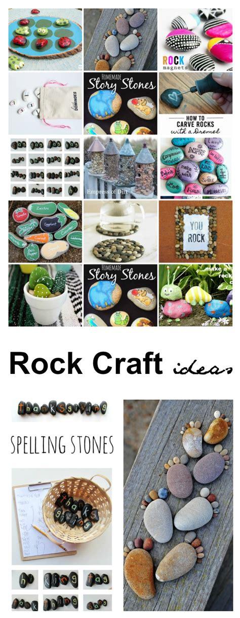 rock craft projects rock craft ideas the idea room