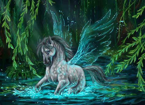 Happy Call By Vegasus pegasus water song by silverflight on deviantart