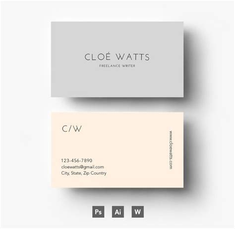 25 best ideas about modern business cards on pinterest