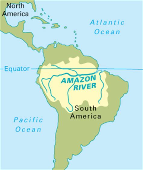 south america map river a grand voyage of south america the river