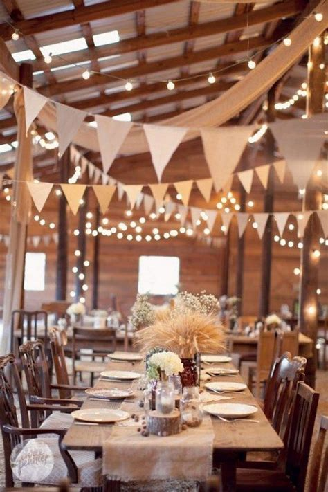 Unique Wedding Banner by 30 Unique Wedding Ideas With Bunting Details Rustic Barn