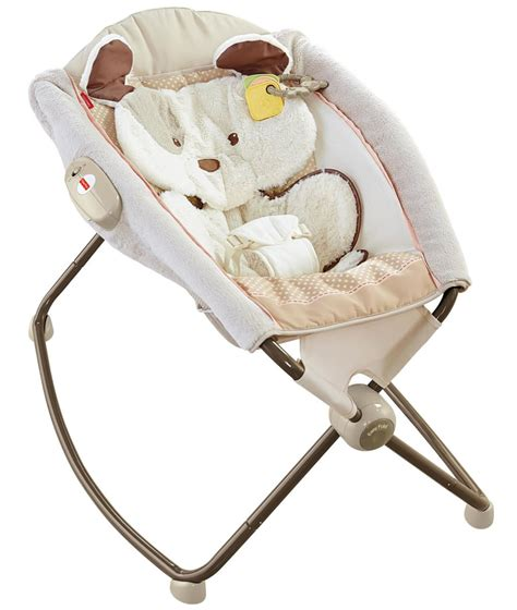 Fisher Price Rock N Play Sleeper Flat by Fisher Price Snugapuppy Deluxe Newborn Rock N