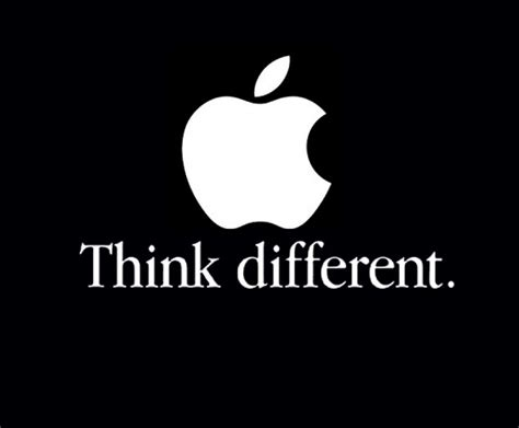 Tshirt Apple Think Different think different markmatters markmatters