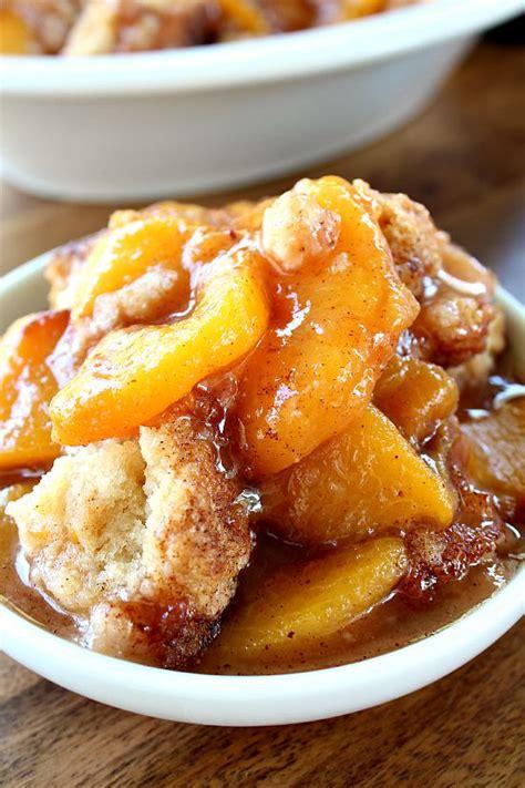 Peach Cobbler by Fresh Peach Cobbler Great Grub Delicious Treats