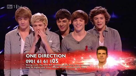 one direction x one direction the x factor 2010 live semi final only